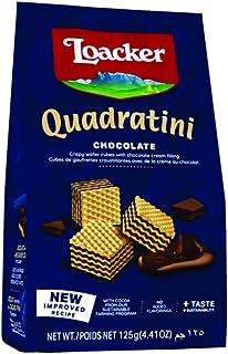 Loacker Quadartini Chocolate Wafers, 125 g (Pack of 1)