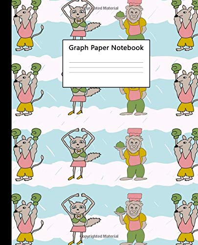 Graph Paper Notebook: Quad Ruled Composition Book 5x5 inch (.20