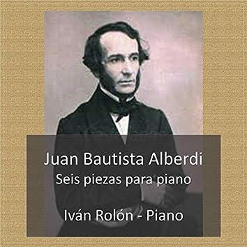 Juan Bautista Alberdi, Seis piezas para piano