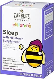 zarbees childrens melatonin