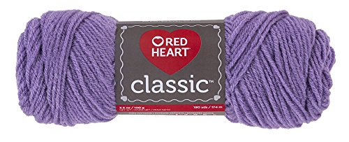 Red Heart Classic Yarn, Lavender