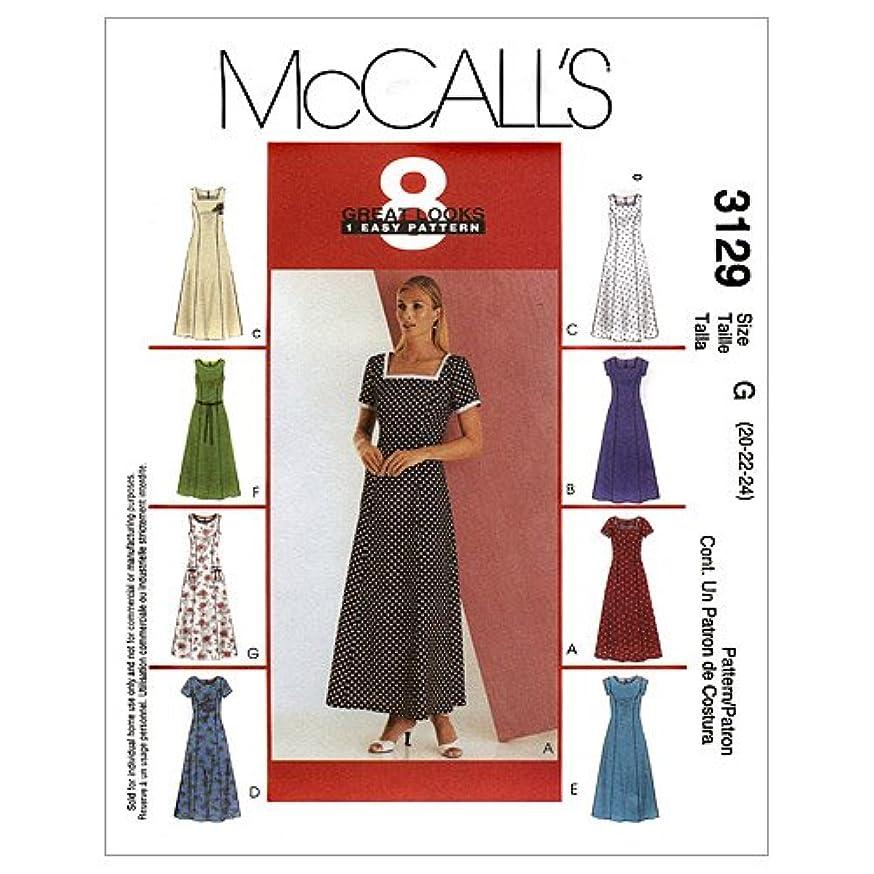 McCall's Patterns M3129 Misses'/Miss Petite Dress, Size D (12-14-16)