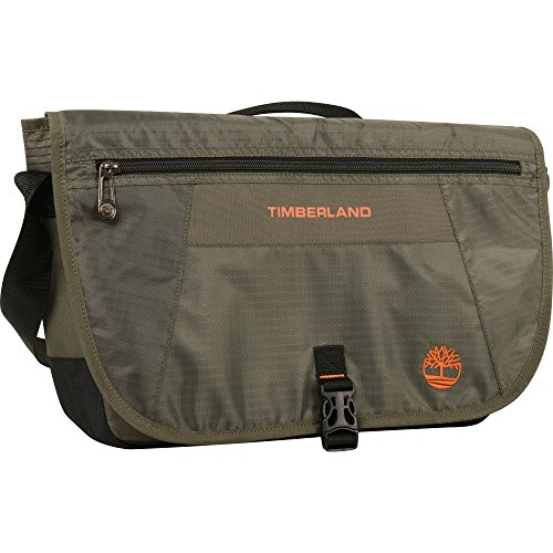 Timberland Gepäck Twin Mountain 40,6 cm Messenger Bag Olive/Burnt, Olivgrün/Orange, Einheitsgröße