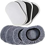 Liyic 9-1/2in X 5-3/4in.Furniture Moving Kit (8pcs) for All Floor Types/Multi-Surface 2-in-1 Reusable Furniture Carpet Slider with Hardwood Glides/Furniture Sliders&Sock Gliders