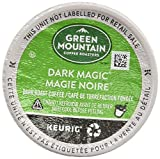 Green Mountain Coffee Roasters Dark Magic, Single-Serve Keurig K-Cup Pods, Dark Roast Coffee, 24 Count