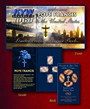 The Penny Men Exclusive Pope Francis Elongated Coin Book