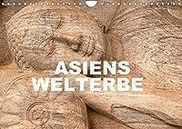 Asiens Welterbe (Wandkalender 2022 DIN A4 quer): 13 faszinierende Farbfotos zeigen das asiatischen Unesco Welterbe (Monatskalender, 14 Seiten )