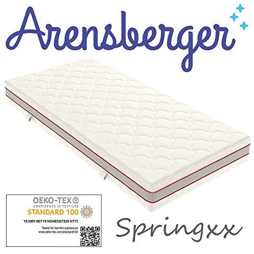 Arensberger ® SPRINGXX 7-Zonen Taschen-Federkern Matratze, 120 x 200 cm, Höhe 19cm