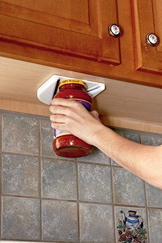 Single Hand Under Cabinet Jar Opener-Easy To Use