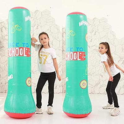 Iannan Inflatable Thickening Fighting Column Decompression Fitness Boxing Column Toy Pool Rafts & Inflatable Ride-ons