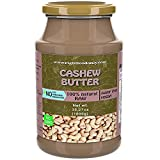 Crema de Anacardos Para Untar 1kg | Mantecas de Frutos Secos Totalmente Naturales 1 kg | Sin Azúcares Añadidos | Crema Vegana | Proteína Vegetal (Anacardo 1 kg)