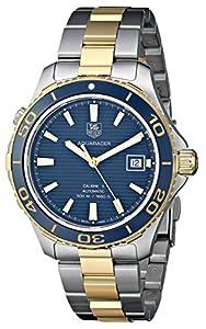 TAG Heuer Men's THWAK2120BB0835 Aqua Racer Analog Display Swiss Automatic Two Tone Watch image
