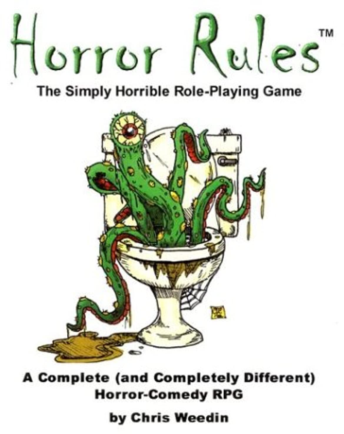Horror Rules: The Simply Horrible Roleplaying Game tnkzc80965