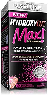Hydroxycut Max Side Effects