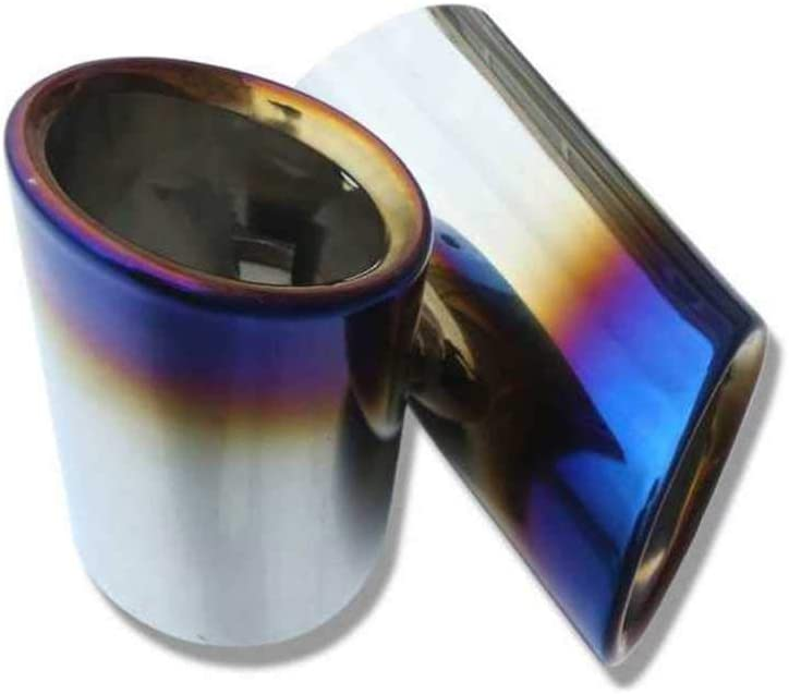 ZHHRHC Car Exhaust Tail Pipes Steel Tip Stainless Access Muffler Large special price Max 66% OFF