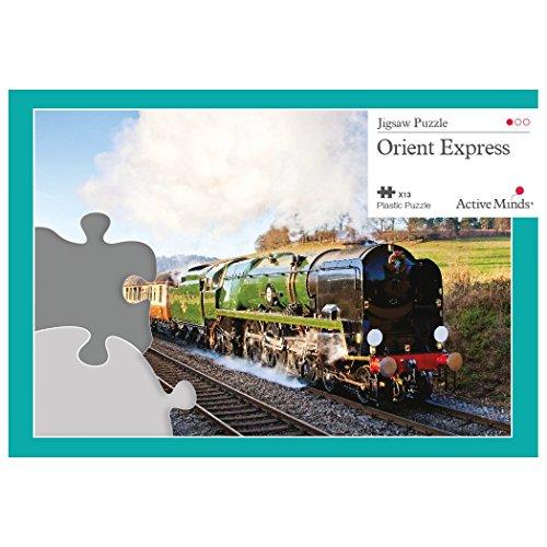 Active Minds 13 Piece Jigsaw Puzzle Set: Specialist Alzheimer's / Dementia Activities and Games (Orient Express)