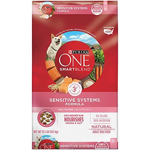 Purina ONE SmartBlend Natural Sensitive Systems, Digestive Health, u0026 Limited Ingredient Formulas Adult Dog Food