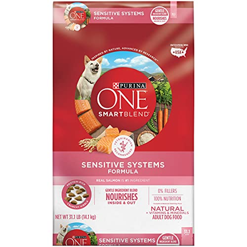Purina ONE Natural, Sensitive Stomach Dry Dog...