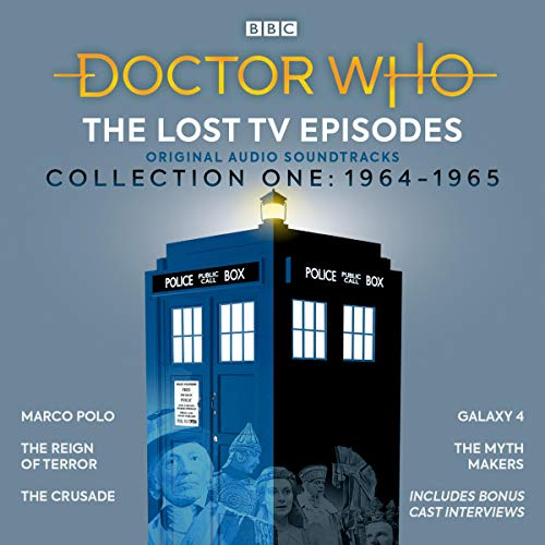 Doctor Who: The Lost TV Episodes Collection One 1964-1965     Narrated Full-Cast TV Soundtracks              By:                                                                                                                                 John Lucarotti,                                                                                        David Whitaker,                                                                                        Dennis Spooner,                   and others                          Narrated by:                                                                                                                                 William Russell,                                                                                        Peter Purves,                                                                                        William Hartnell,                   and others                 Length: 11 hrs     Not rated yet     Overall 0.0