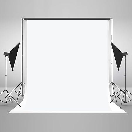 Katehome Photostudios 1 5x2 2m Weiß Hintergrund Kamera