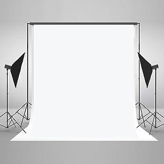 KateHome PHOTOSTUDIOS 1.5x2.2M Sin Arrugas Telones Blancos para fotógrafos Fotografía Foto Fondo Prop