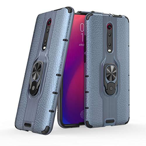 MSK Funda para Xiaomi Mi 9T, funda híbrida de doble capa a prueba de golpes, ultra fina carcasa trasera antiarañazos, soporte giratorio 360 compatible con Xiaomi Mi 9T/Xiaomi Mi 9T Pro