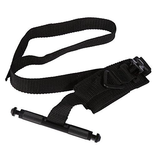 Tracffy 1pc Bouchées de secours rapides rapides portables à l'air libre Broche de secourisme tactique médical Strap One Hand (Noir)