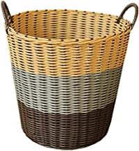 QQW Household Laundry Basket, Dirty Clothes Basket, Clothing Storage Basket, Toy Basket, Dirty Clothes Basket, Large Dirty...