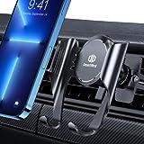DesertWest Handyhalterung Auto【Anti-Rutsch-lüftungsclip】 Handyhalter fürs Auto Lüftung 2021 Ultrastabilität Universale Kfz Handyhalterung Kompatibel mit iPhone 13 12 Samsung S21 S20 Huawei Xiaomi usw