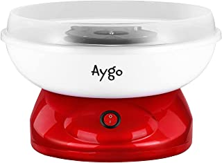 Aygo Machine à barbe à papa pour la maison   Retro Cotton Candy Machine   avec sucre ou bonbons durs à utiliser   500 W