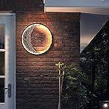 XINGYAO lámpara de Pared LED al Aire Libre Impermeable Paisaje lámpara de Pared Porche Exterior Pared luz lámpara de jardín Villa IP65 Luna Luna Muro de Aluminio Apliques
