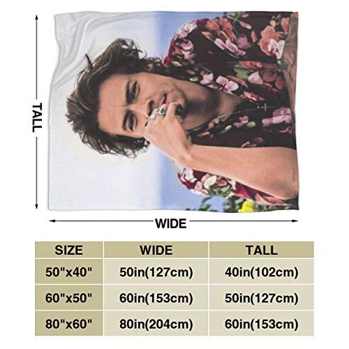 """C-CASE Flannel Fleece Blanket Super Soft 3D Printing Polyester Anti-Ball Fleece Throw Blanke for Men Women Kids 50""""x40"""""""