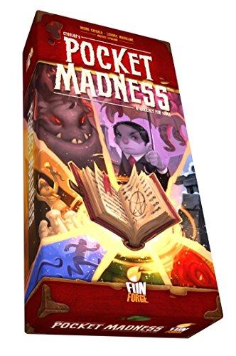 Fantasy Flight Games FFOPMUS01 Pocket Madness, Multicolor