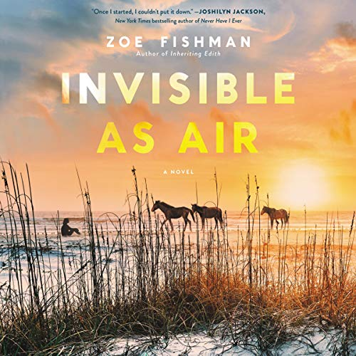 Invisible as Air audiobook cover art