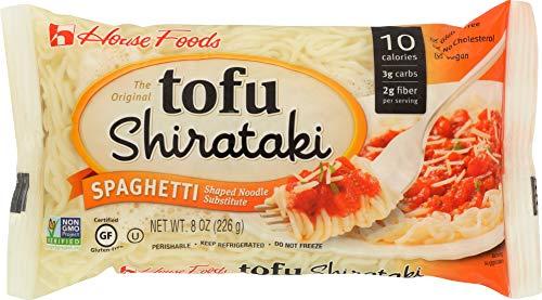 Tofu Shirataki Noodles Spaghetti Shape 10- 8oz Bags