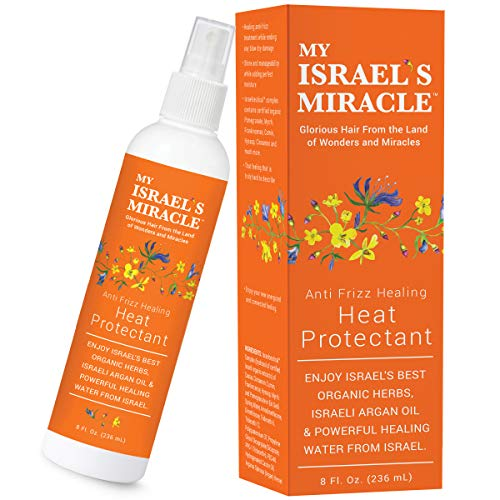 My Israel's Miracle healing heat protectant