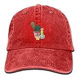 zhouyongz Gorra de béisbol ajustable unisex para papá, gorro de cactus, bonsái, gorro de vaquero