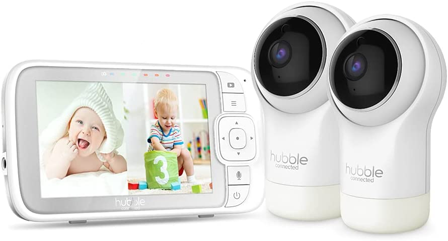 Hubble Connected Nursery View Pro Twin 5