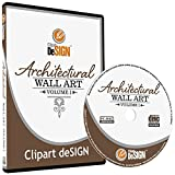 Arte de la pared decal-sticker clipart-vinyl Cutter Plotter images-vector Clip Art Graphics CD