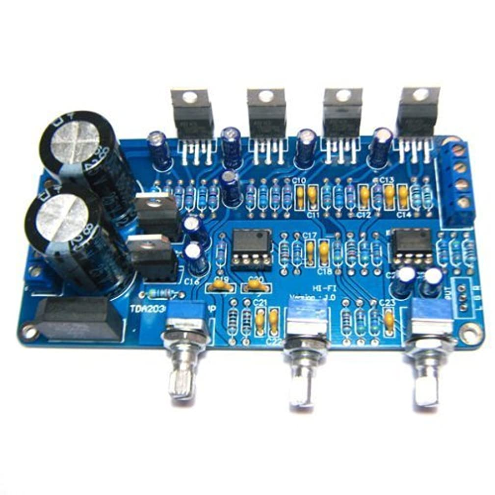 SMAKN? TDA2030A 2.1 Stereo Audio Power Amplifier Finished Board