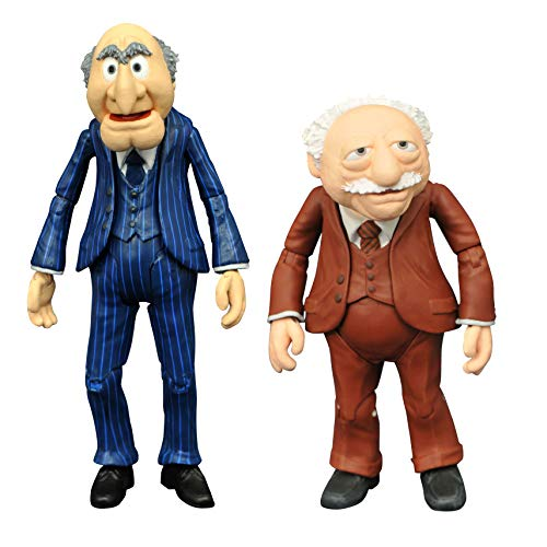 DIAMOND SELECT TOYS The Muppets Best of Series 2: Statler & Waldorf Action Figure Two-Pack, Multicolor