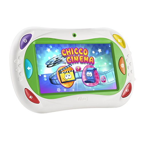 Tablet de juguete Chicco App Toys Happy Tab 2017, blanca