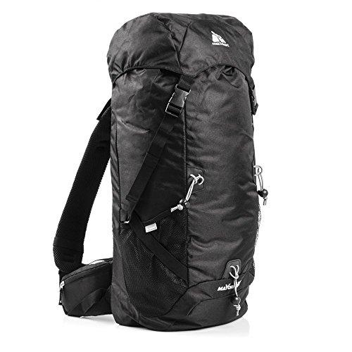 meteor® MAYON 40L Top Mountain Rucksack für Erwachsene & Junge Berg Trekkingrucksacke, Camping Reiserucksack, Outdoor Wanderrucksacke, Leichtgewicht: 570g
