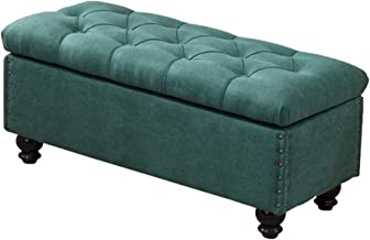 WY&XIAN Shoe Store Change Shoe Bench|Storage Sofa Bench Household Storage Box|Long Bench European Style Locker Room|Cloakr...