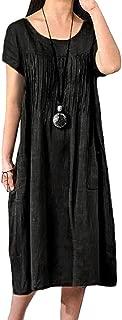 Best dress linen black Reviews