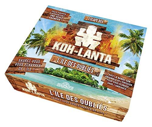Koh-Lanta - L'île des oubliés Escape Box - Escape game enfant de 2 à 5 joueurs - Dès 8 ans