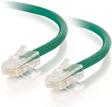 C2G 24507 Cat5e Crossover Cable - Non-Booted Unshielded Network Patch Cable, Green (7 Feet, 2.13 Meters)