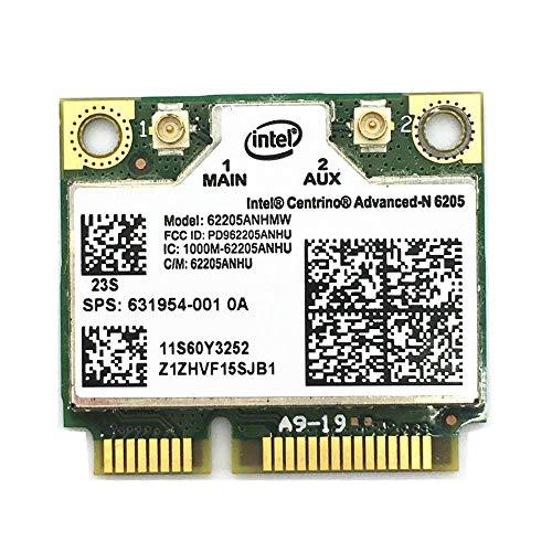 Miwaimao For Centrino Advanced-N Intel 6205 62205HMW Wireless WiFi Card for x220 x220i t420 60Y3253 8760p