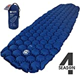 ECOTEK Outdoors Insulated Hybern8 4 Season Ultralight Inflatable Sleeping Pad for Hiking Backpacking...