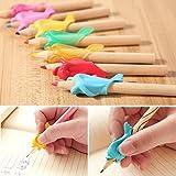 Bismarckbeer - 10 piezas de pinzas para lápices de delfín para niños, para sujetar...